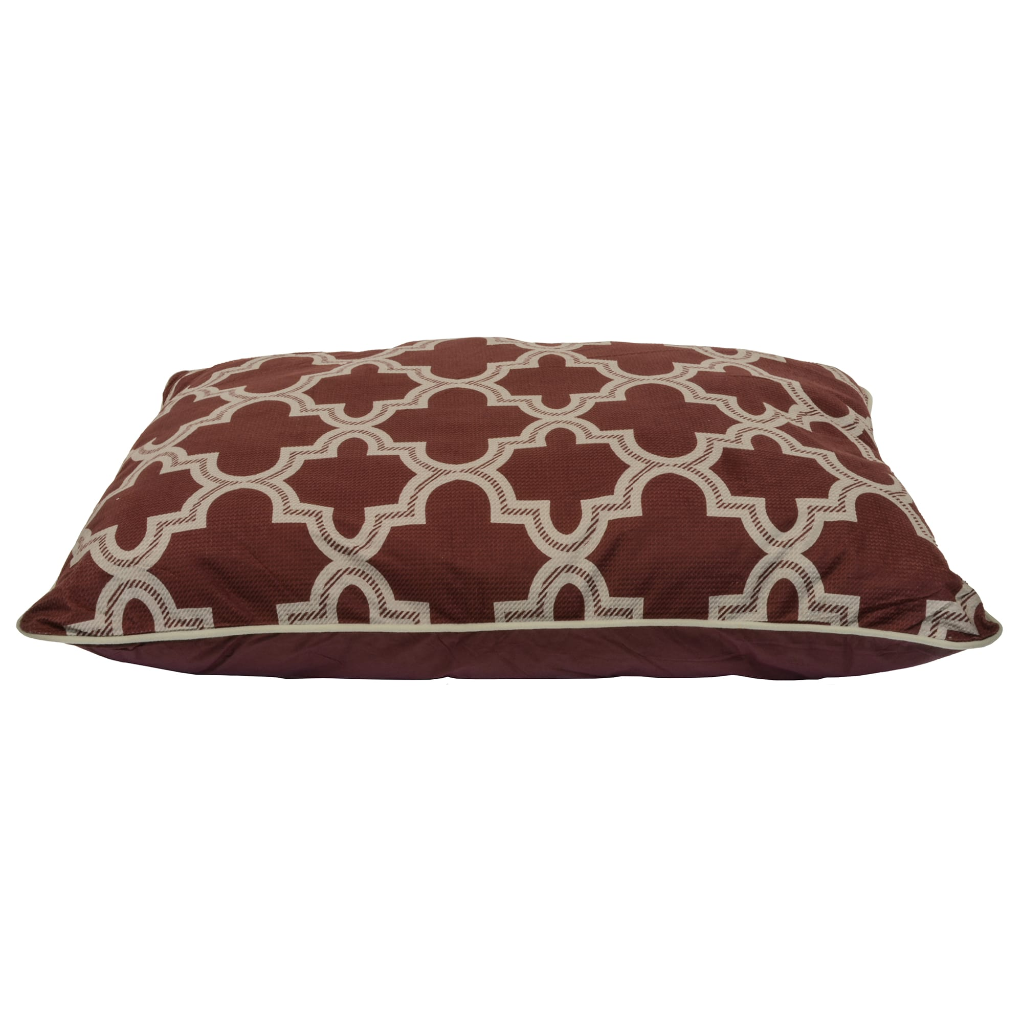 Dallas Manufacturing Red Pillow Dog Bed, 39\\\