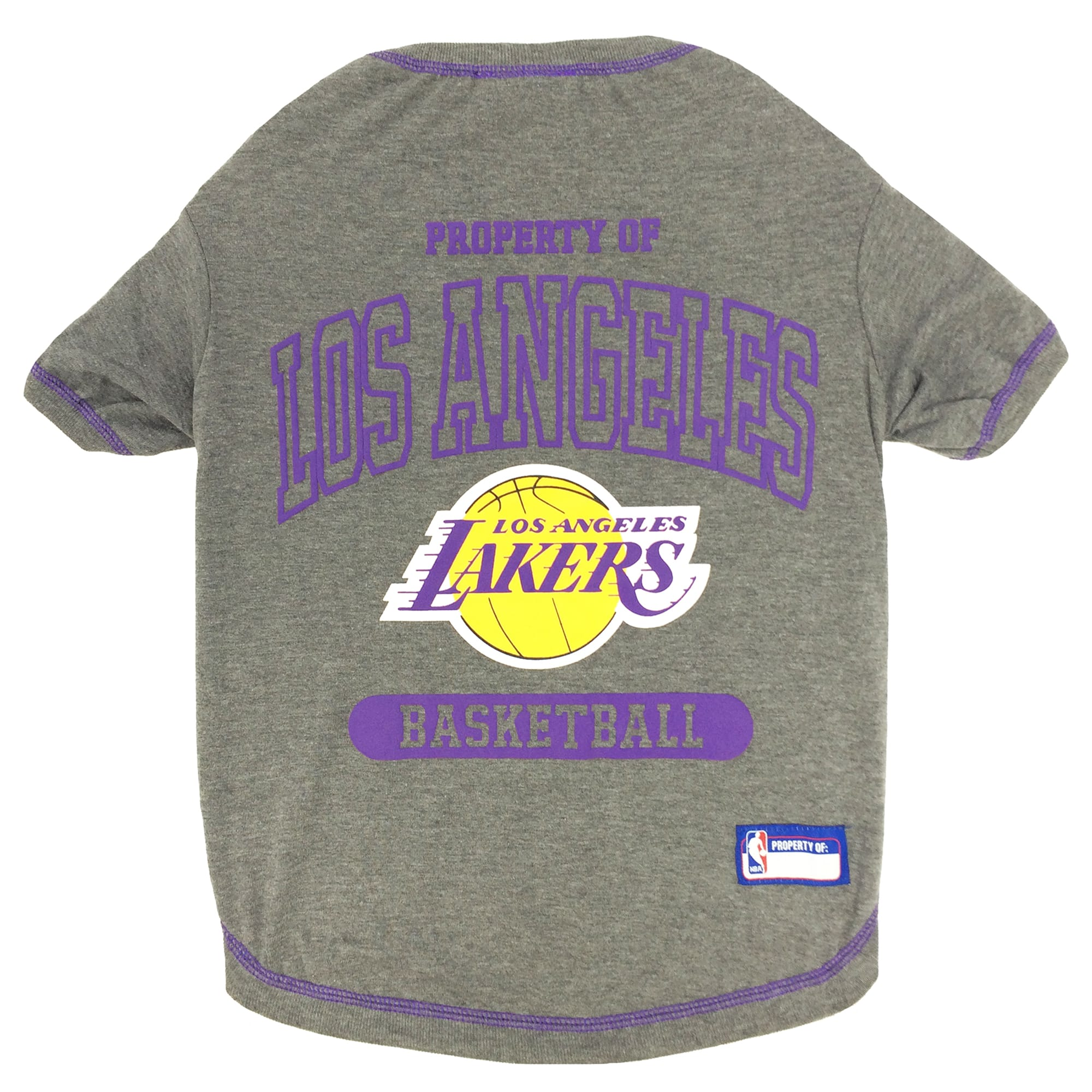 Pets First Los Angeles Lakers NBA T-Shirt for Dogs, X-Small