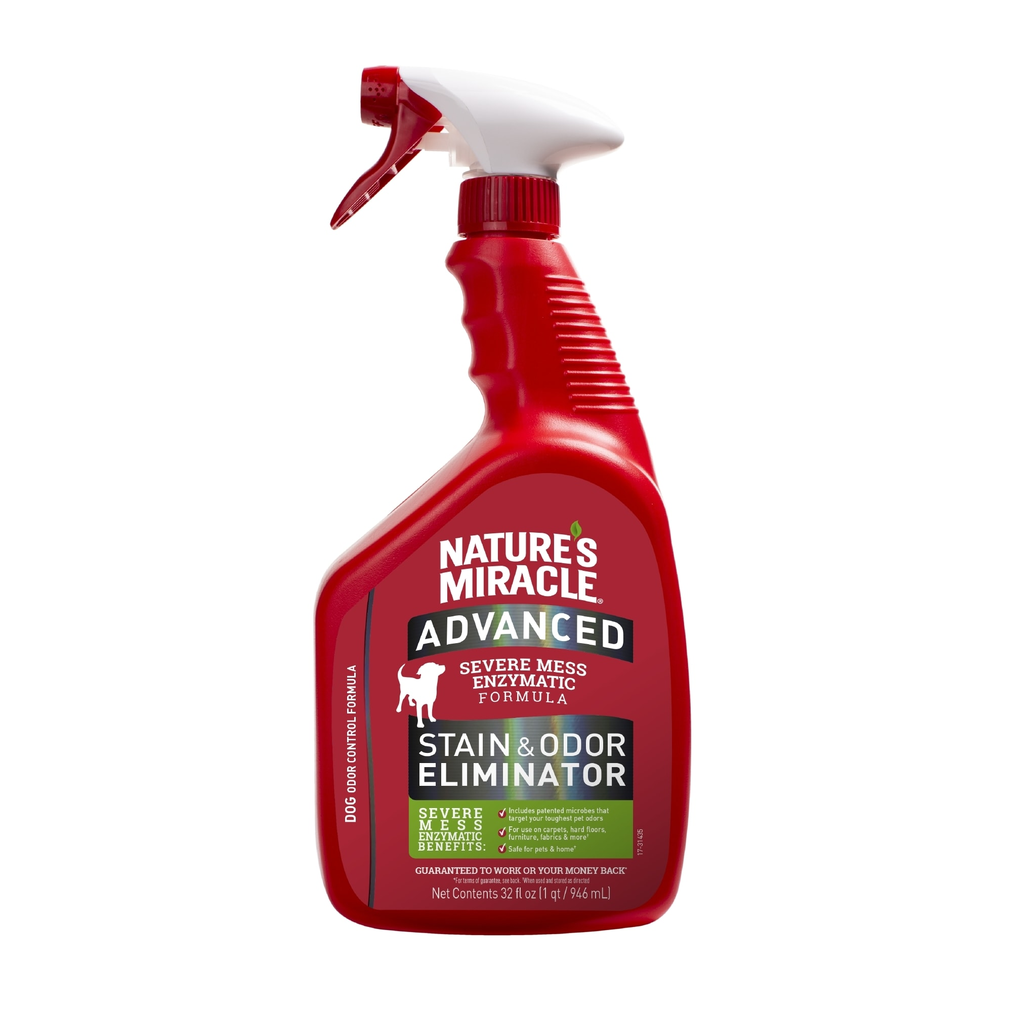 Nature S Miracle Dog Advanced Stain Odor Remover 32 Fl Oz Petco