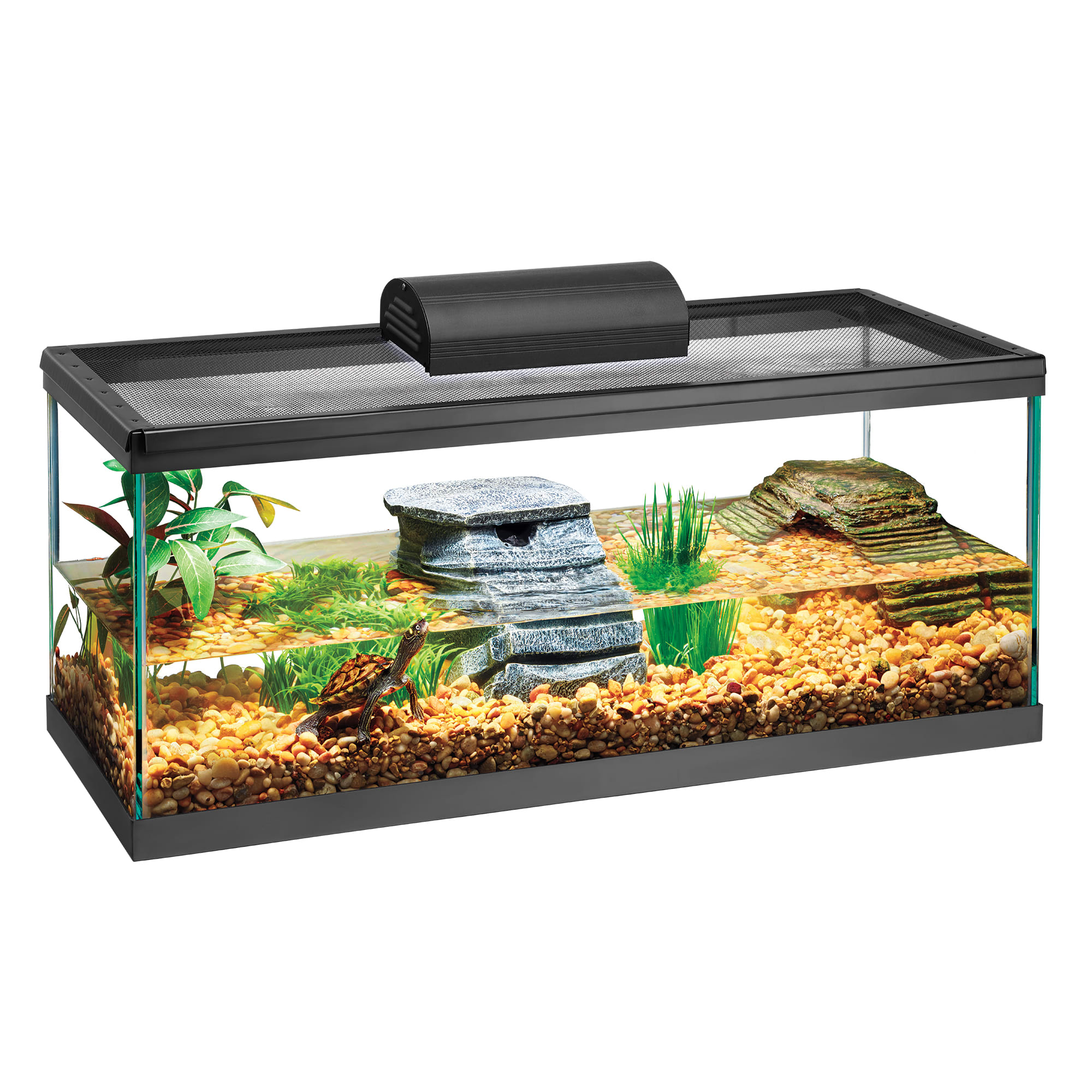Zilla Aquatic Turtle Aquarium Kit 20 Long Petco