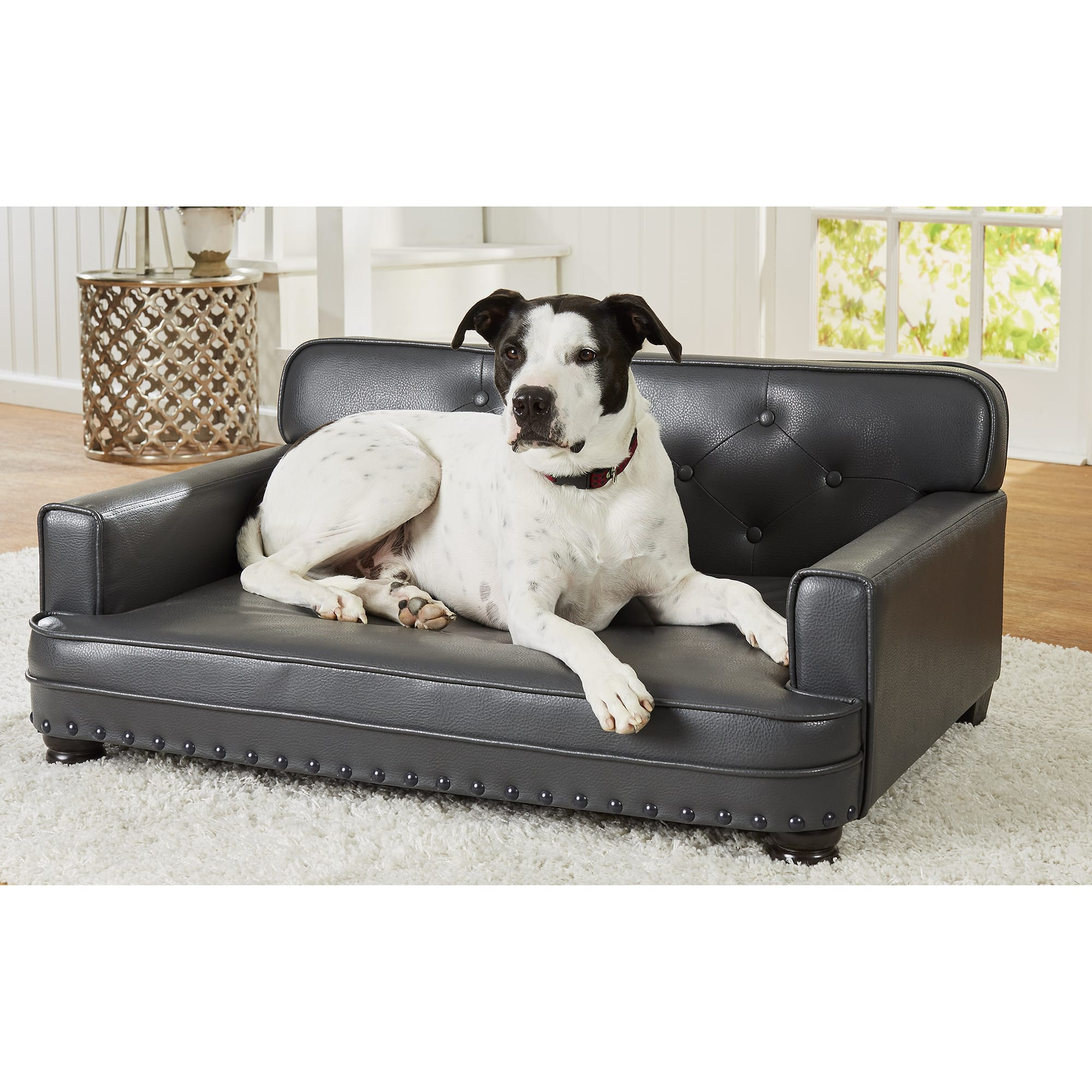 Library Pet Grey Sofa For Dog