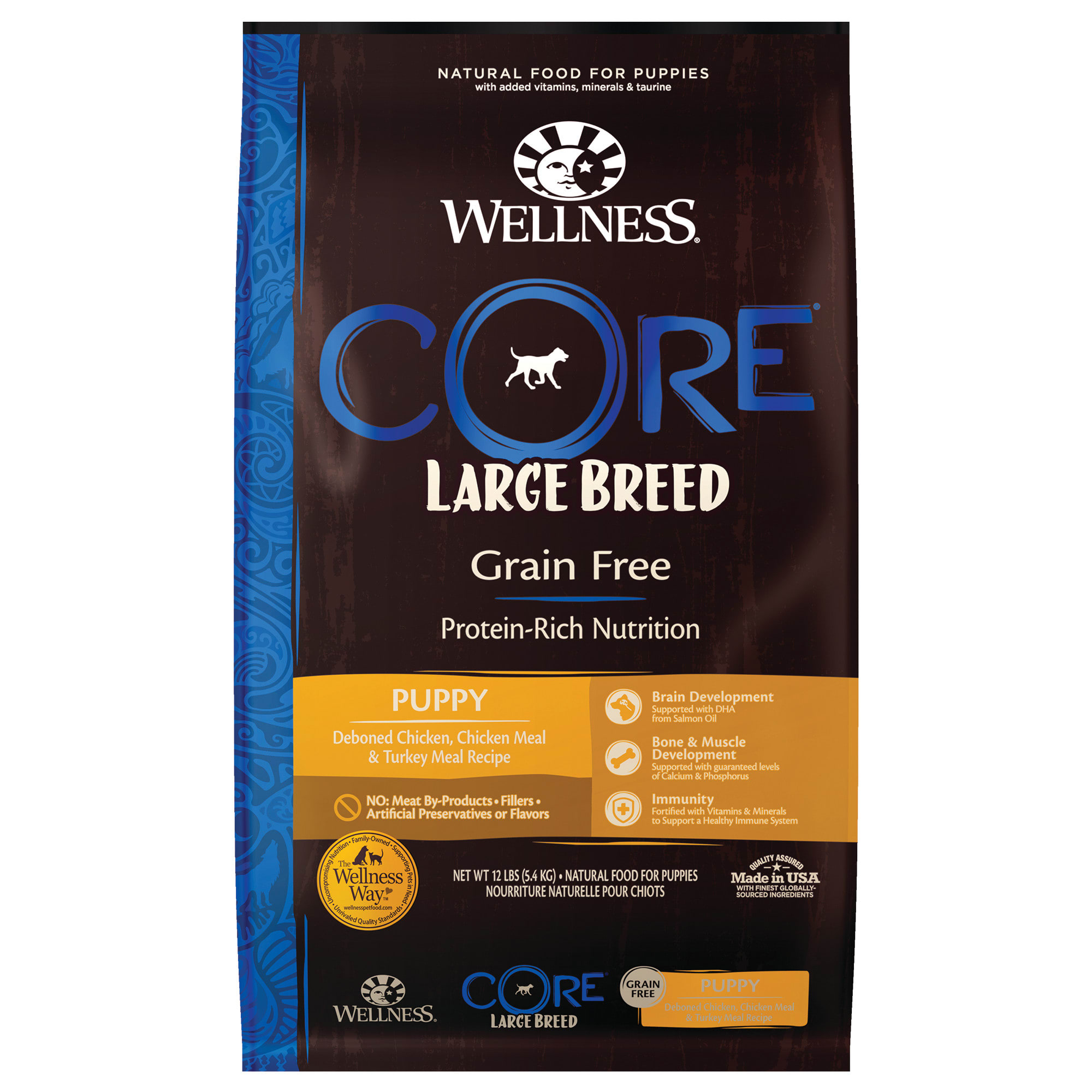 best grain free large breed puppy food