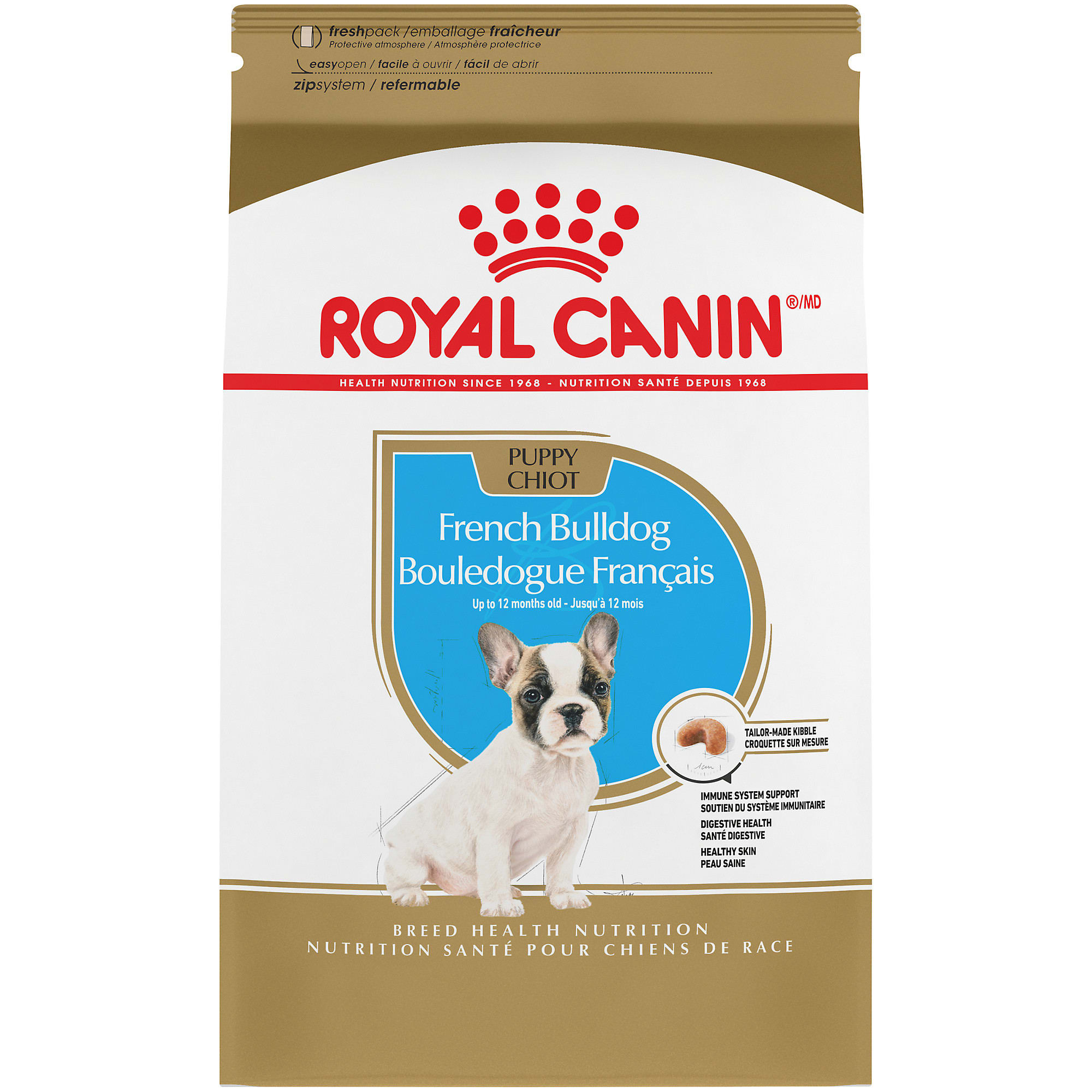 Royal Canin Breed Health Nutrition French Bulldog Dry Puppy Food 3 Lbs Petco