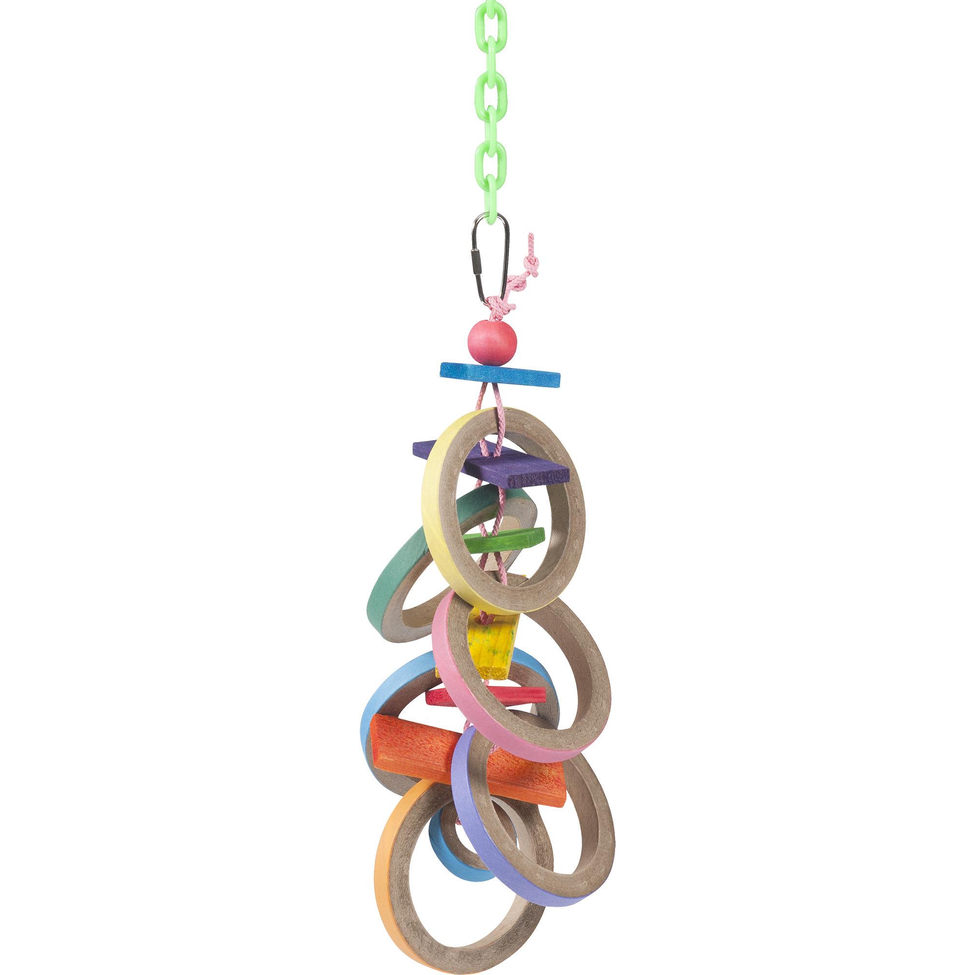 Super Bird Creations Olympic Rings Bird Toy