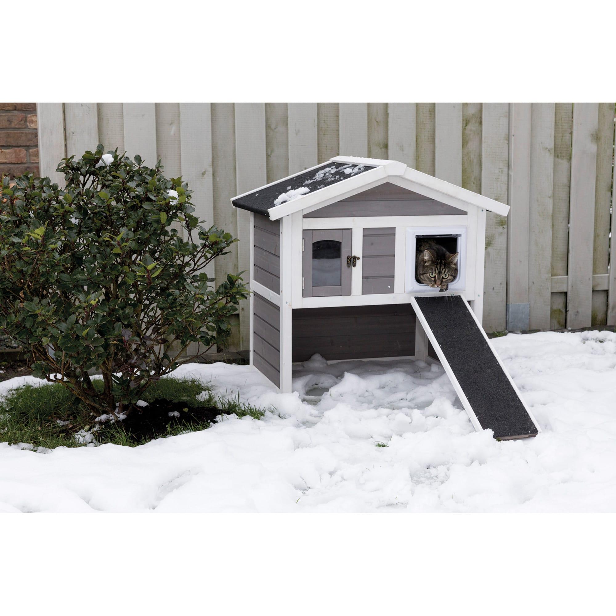 Trixie Natura Insulated Cat S Home Furniture 30 45 H Petco