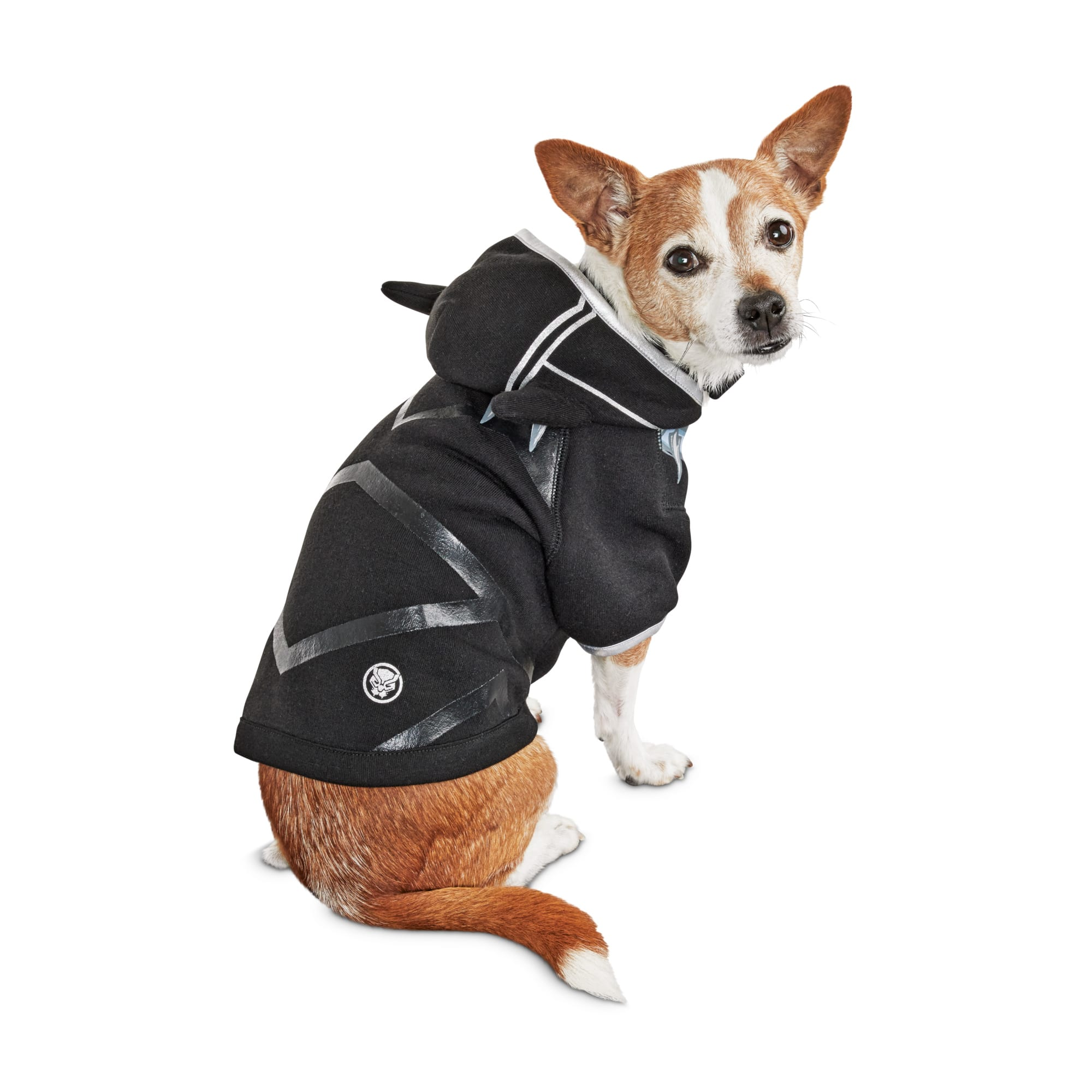 Marvel Avengers Black Panther Dog Hoodie X Small Petco Just choose your favourite hero costume. marvel avengers black panther dog hoodie x small