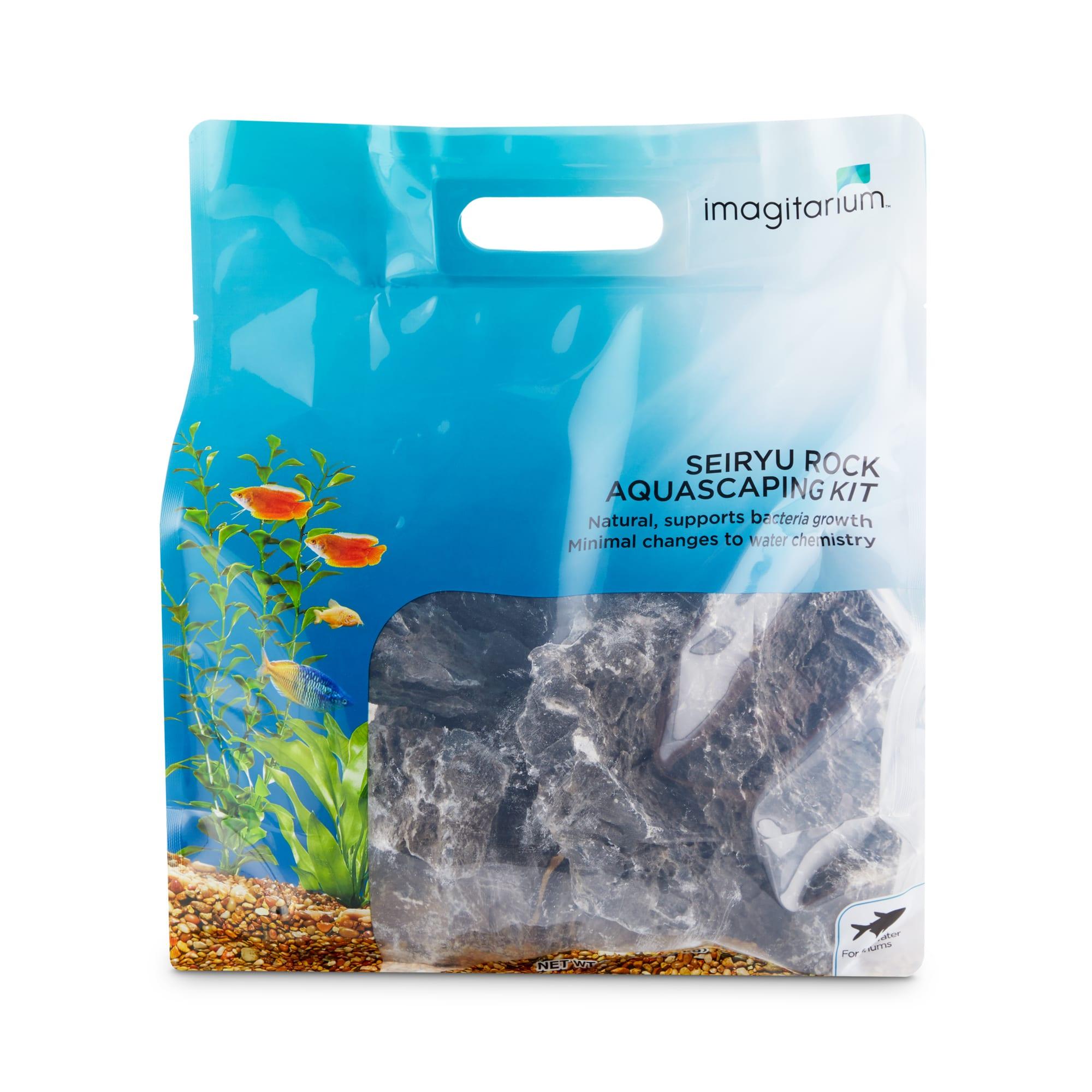 Imagitarium Seiryu Rock Aquascaping Kit Large Petco