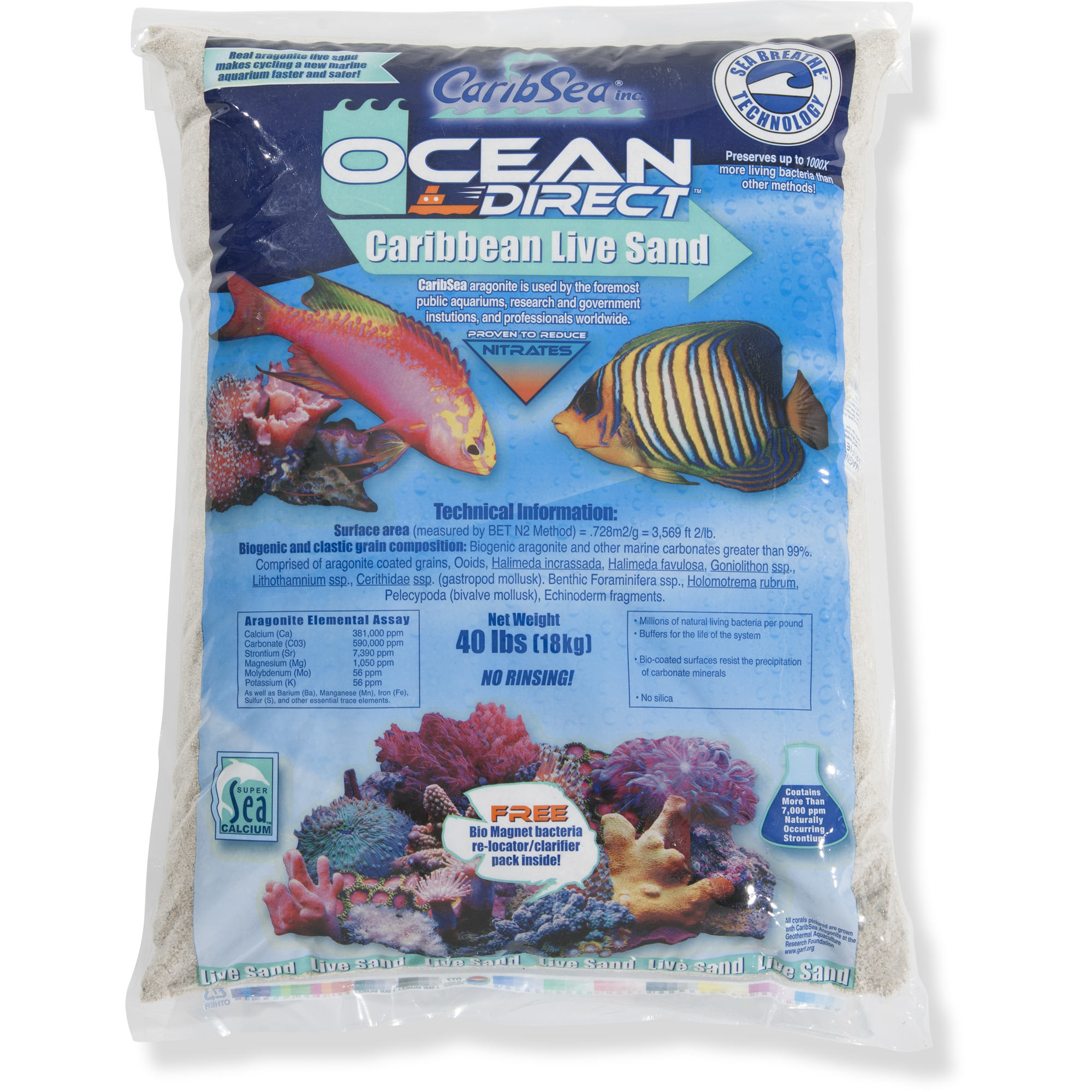 Caribbean Live Sand Substrate
