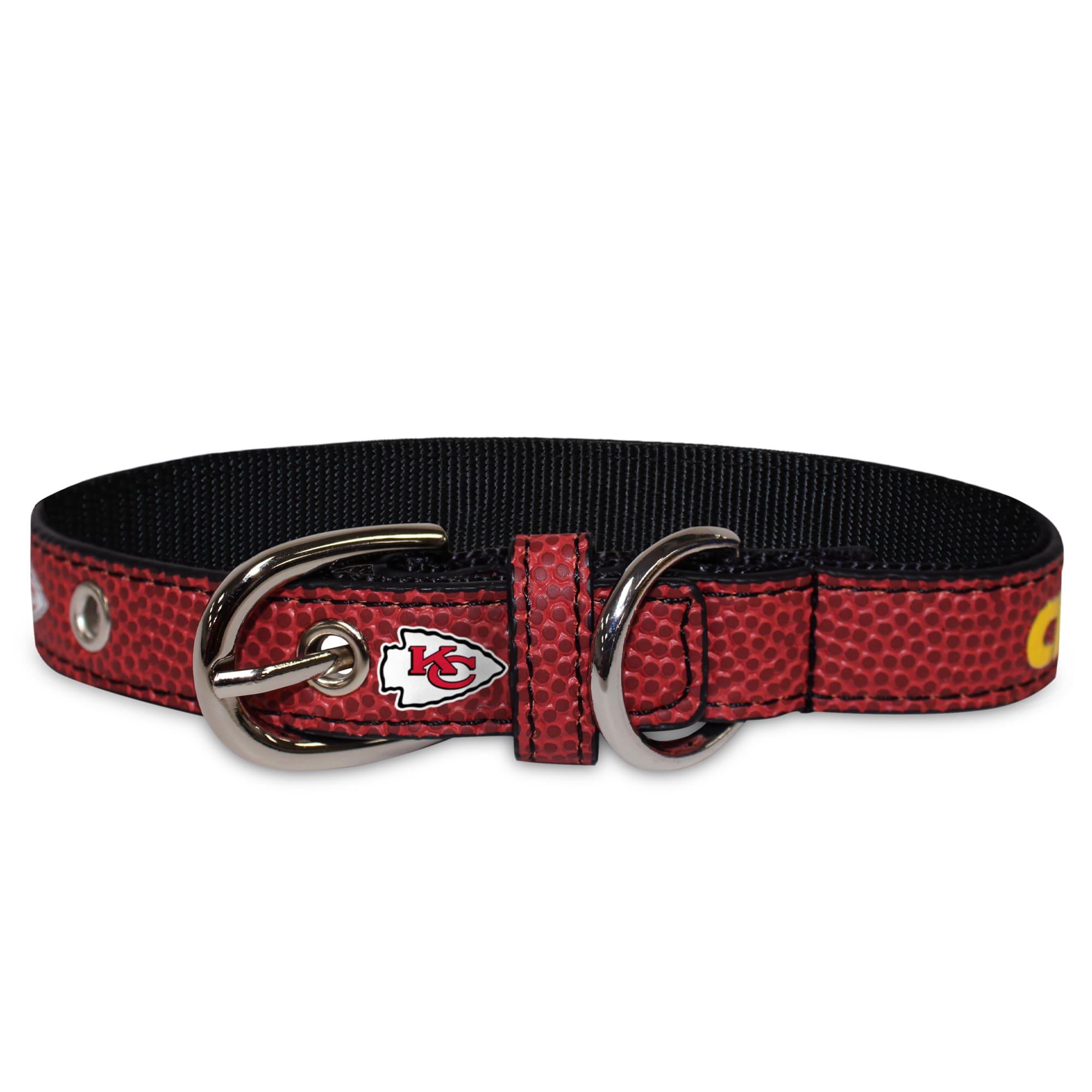 Arkansas Razorbacks Premium Large Dog Collar