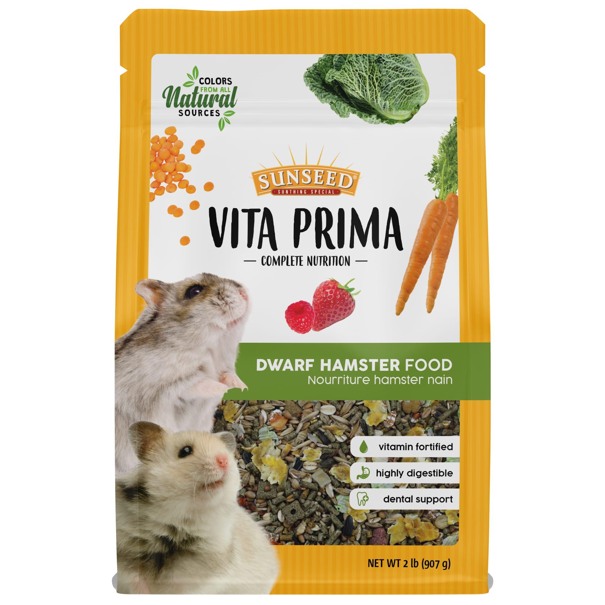 Sun Seed Vita Prima Dwarf Hamster Food 2 Lbs Petco