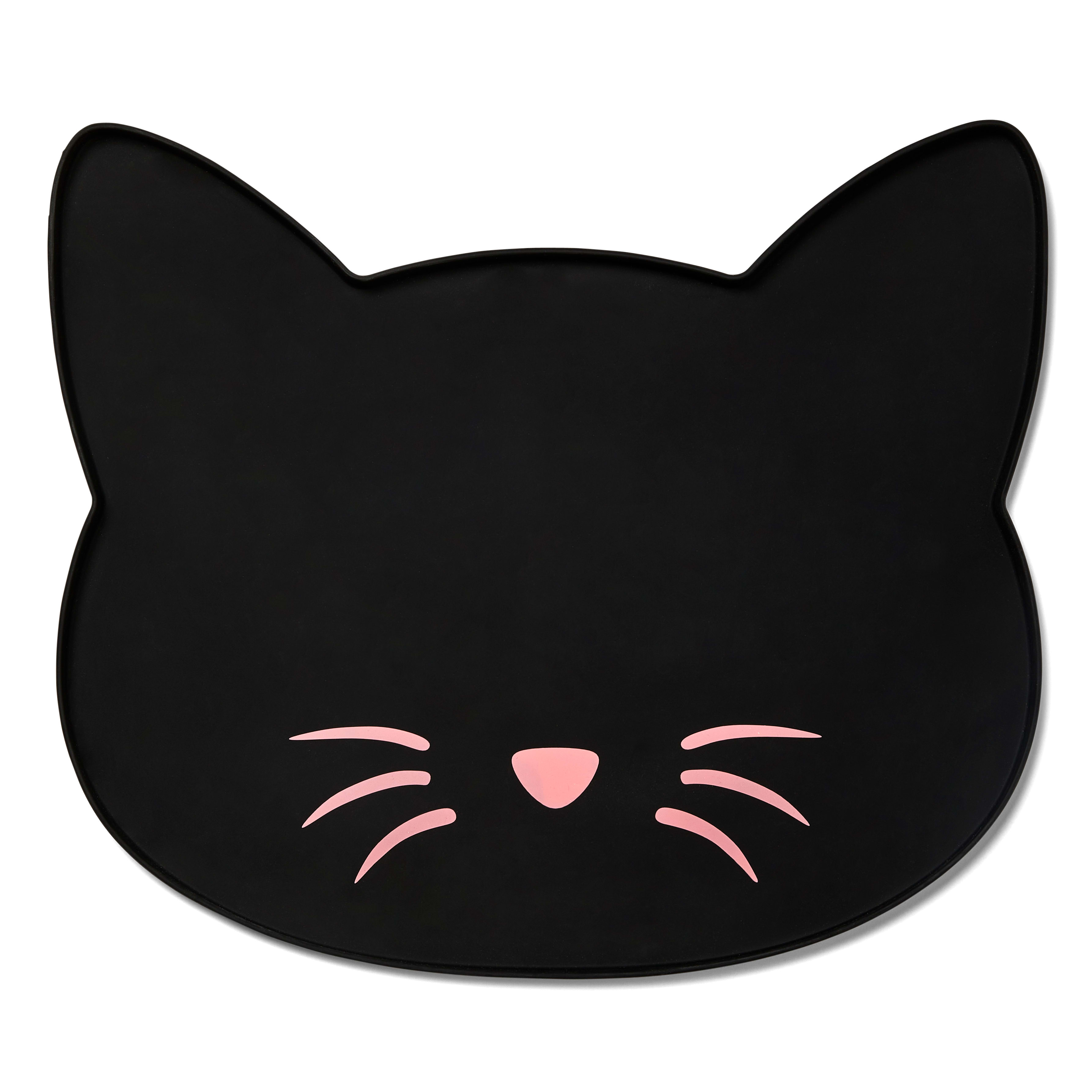 Placemat for Cats Cat dish Placemat Cat Placemat Cat Food Dish Platemat Kitty Placemat Pet Placemat