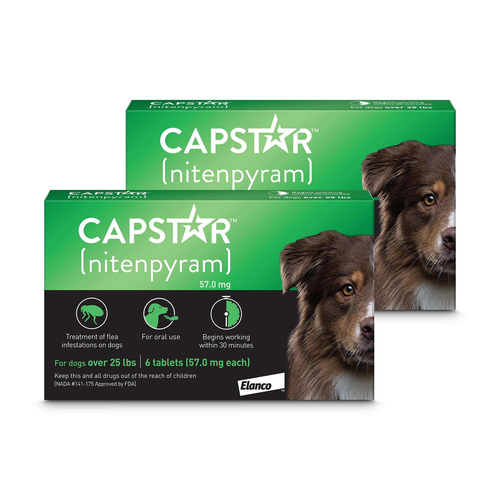 Capstar Flea Tablets For Dogs Over 25 Lbs Count Of 6 Petco