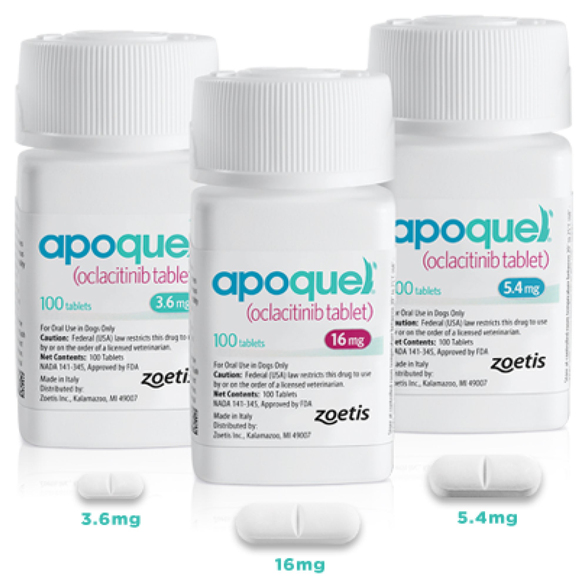 Apoquel Bottles