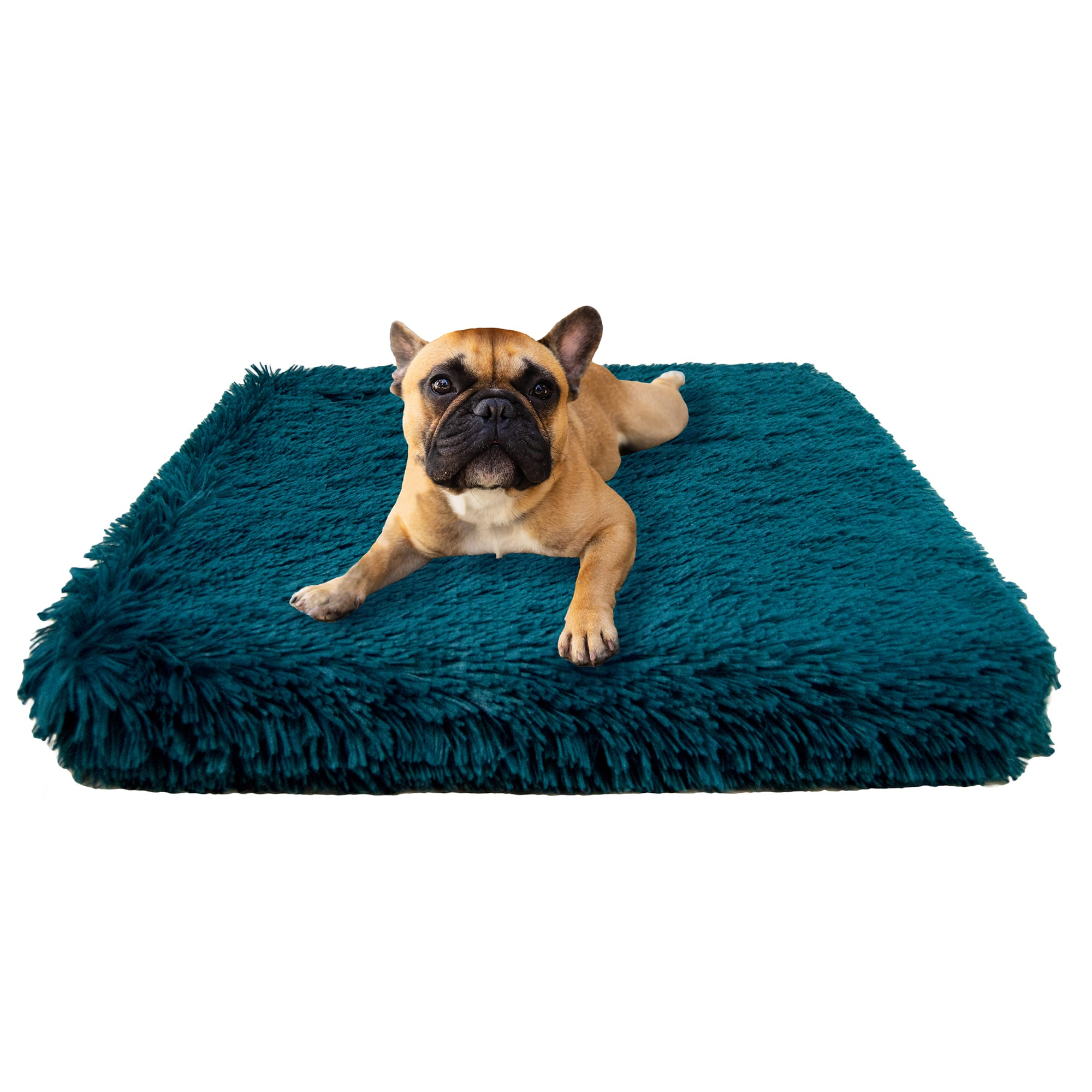 Bessie And Barnie Ultra Soft Foam Wonderlust Deluxe Faux Fur Comfort Dog Mat Bed 25 L X 23 W Petco