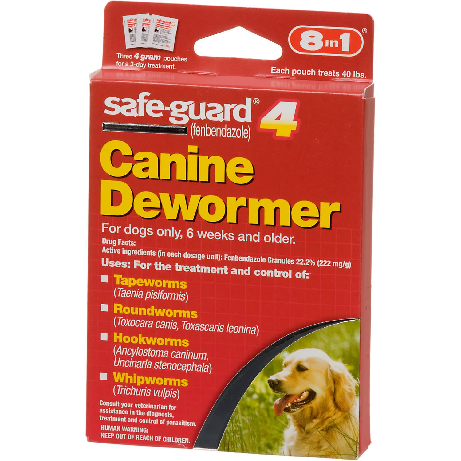 Canine Dewormer For Large Dogs
