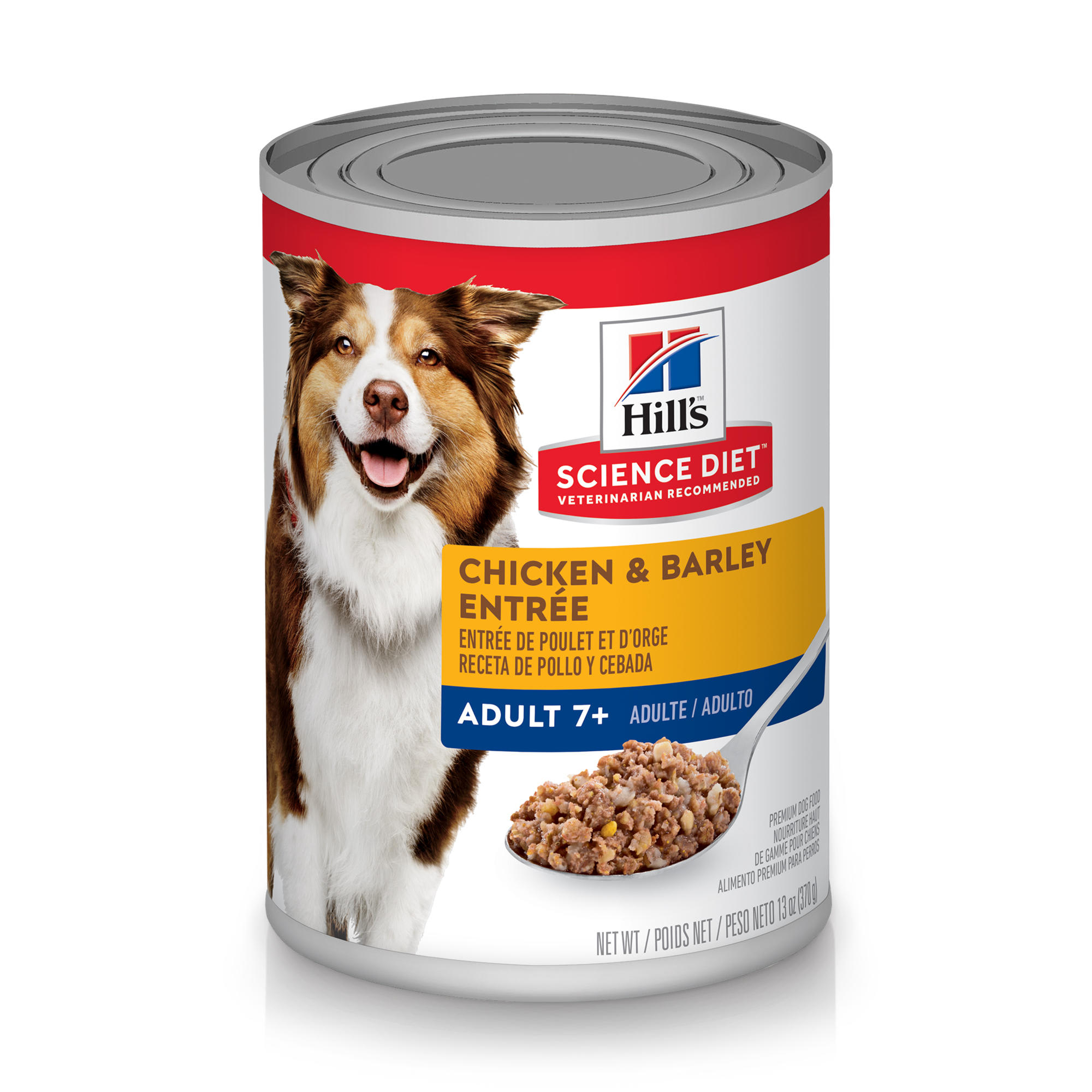 Hill's Science Diet Adult 7+ Chicken & Barley Entree Canned Dog Food -  P5055742