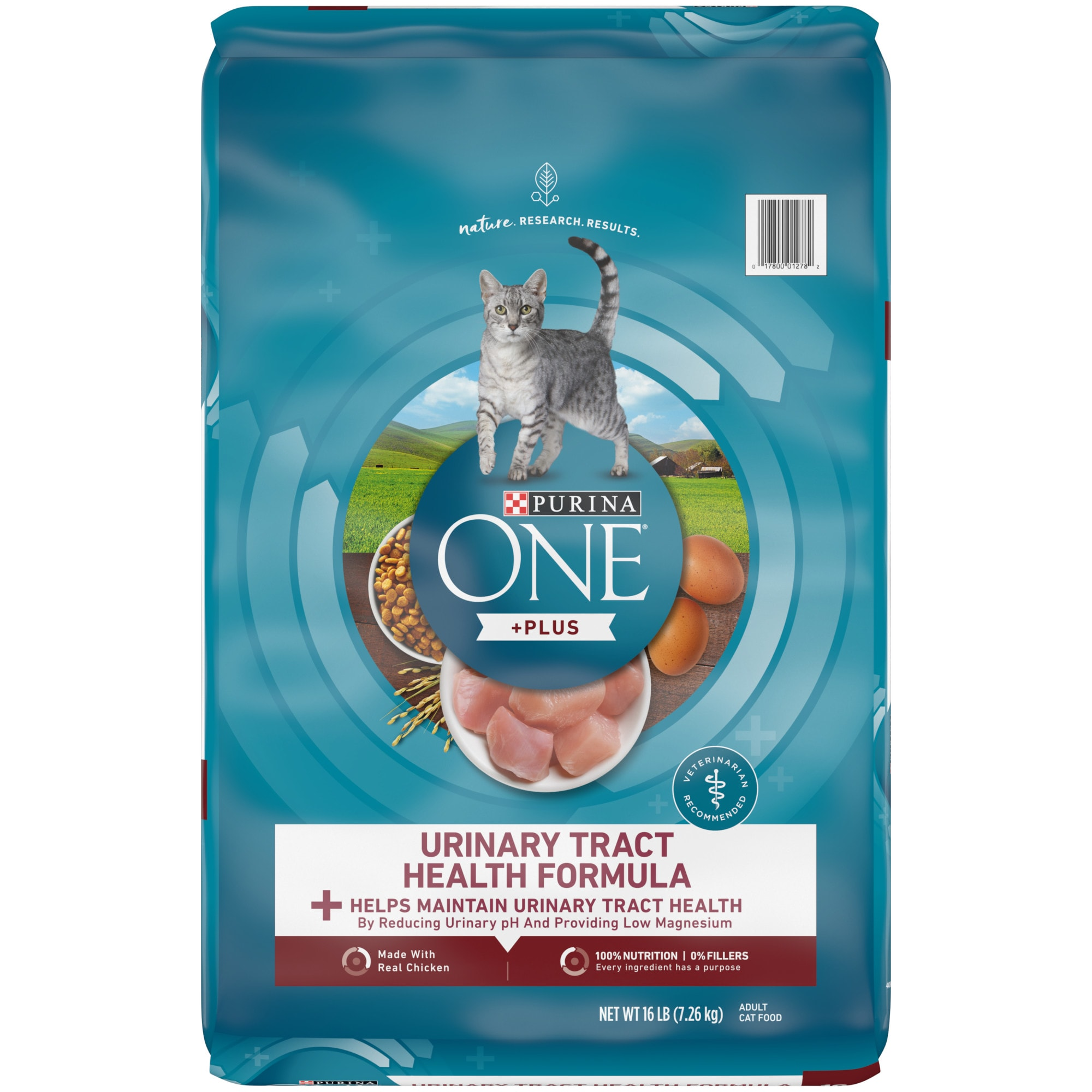 UPC 017800549172 product image for Purina ONE High Protein Urinary Tract Health Formula Adult Dry Cat Food   upcitemdb.com