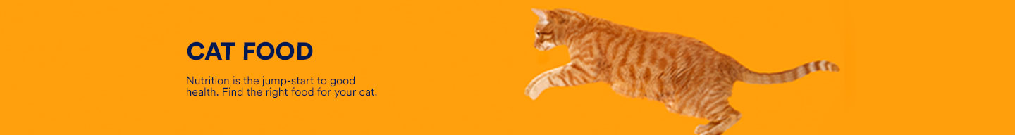 Cat food. Nutrition is the jump-start to good health. Find the right food for your cat.
