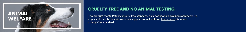 ANIMAL WELFARE; Cruelty-free and no animal testing