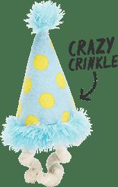 Spiky squeaker ball