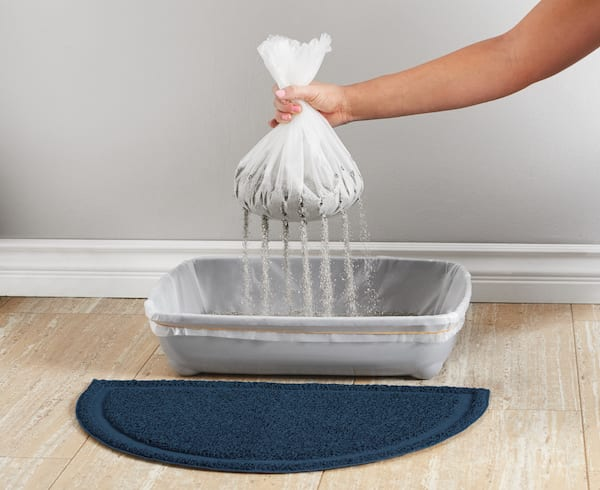 easy litter box cleanup