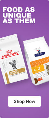 Food as unique as them - Help support your cat's health with nutrition tailored to their specific needs. - Shop Now