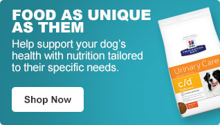 Food as unique as them - Help support your dog's health with nutrition tailored to their specific needs. - Shop Now