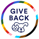 'Give back' badge