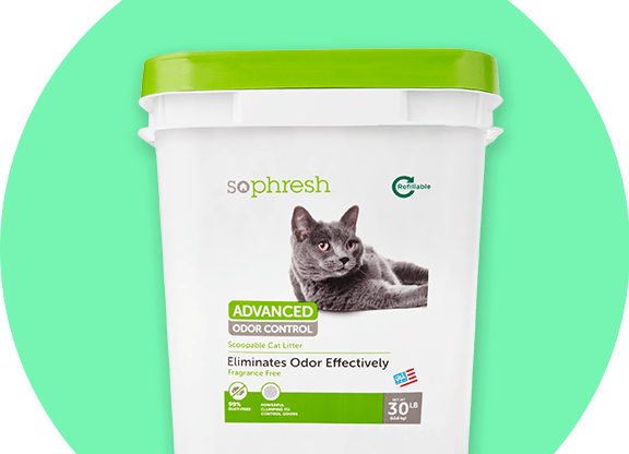 Sophresh cat litter product