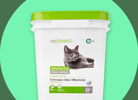 Sophresh cat litter product